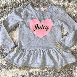 Girl's Juicy Couture Top💕